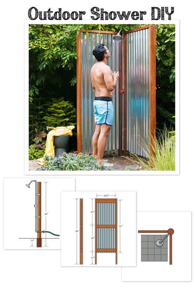 outdoor shower diy: Pools Area, Lakes I M, Outdoor Showers, Lakes Houses, Awesome Ideas, Diy Outdoor, Gardens Backyard Ideas, Outdoor Shower Diy, Camps Shower