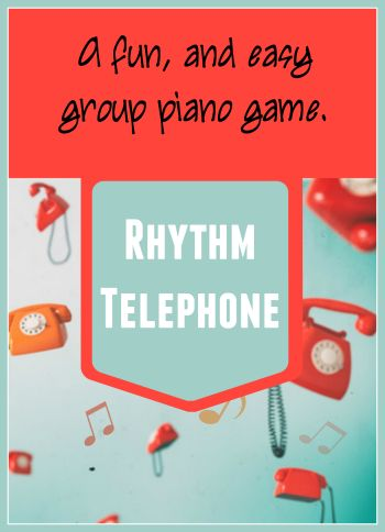 a perfect game for a multi-age piano party or group class (easy set-up and no materials needed!)