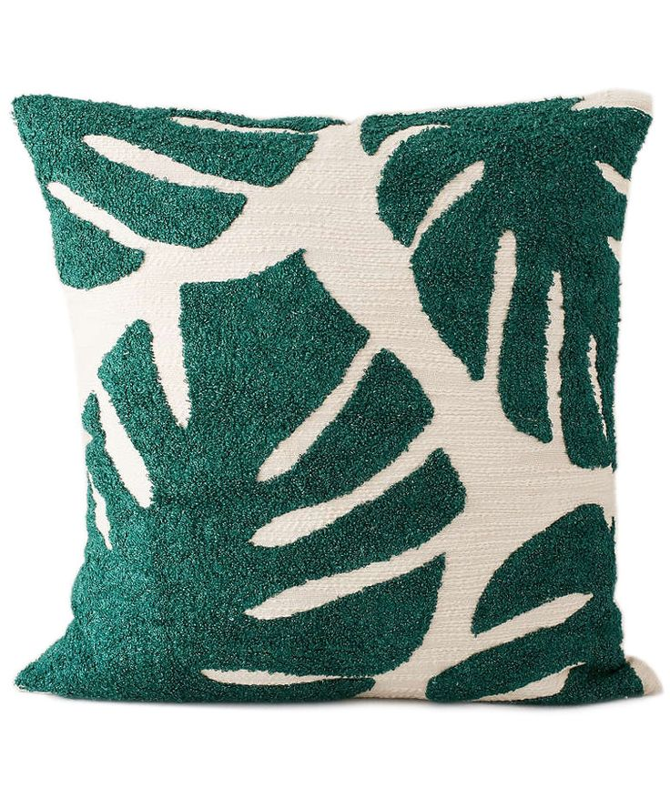 Assembly Home Crewel Palms Pillow   Our editors share their favorite finds from the Urban Outfitters spring home sale (now through April 3).