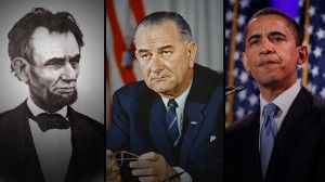 Ten great presidential speeches.  Speeches are good texts for close reading, modeling good writing techniques (and speaking) and in some cases argument.