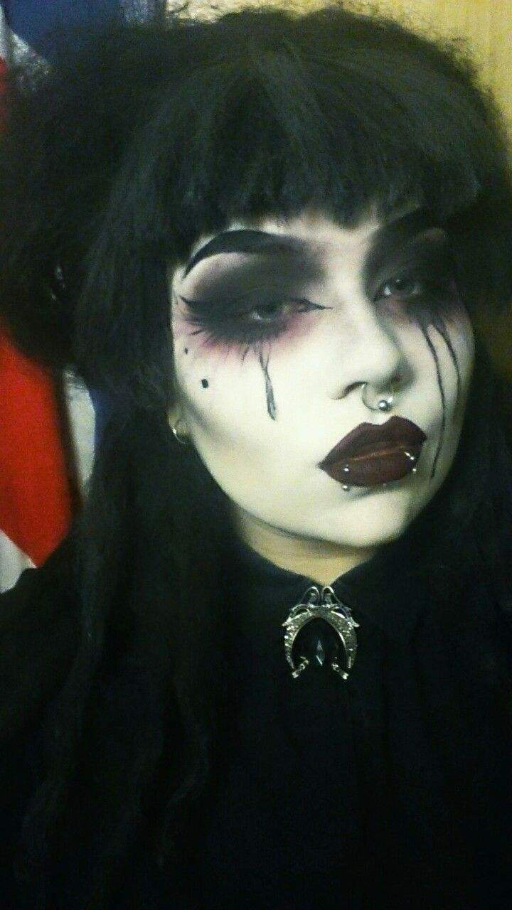 500 best Goth makeup images on Pinterest | Gothic beauty, Goth ...