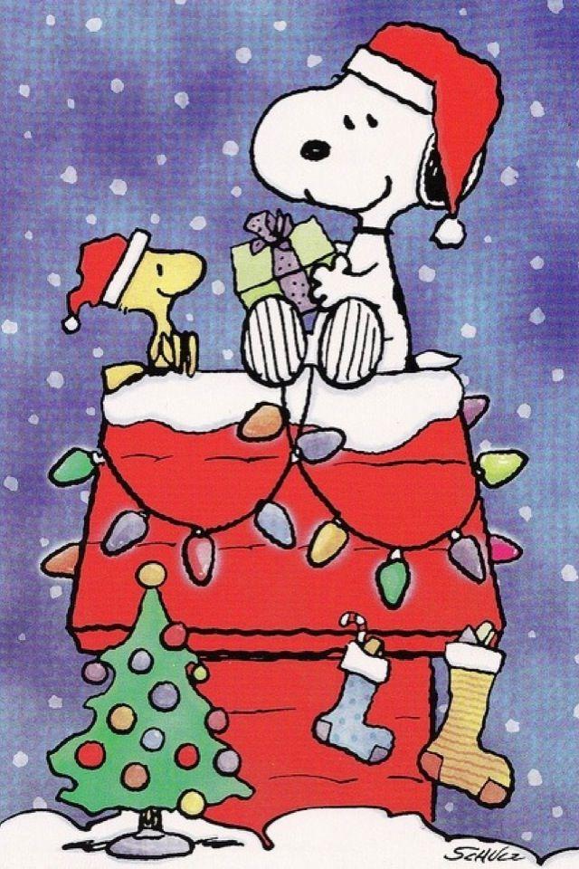 Christmas iPhone Wallpaper tjn | iPhone Walls 1 | Pinterest | Snoopy ...