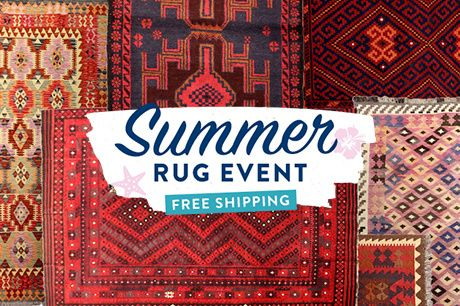 250+ Handwoven Tribal Kilims & more on Brands Exclusive