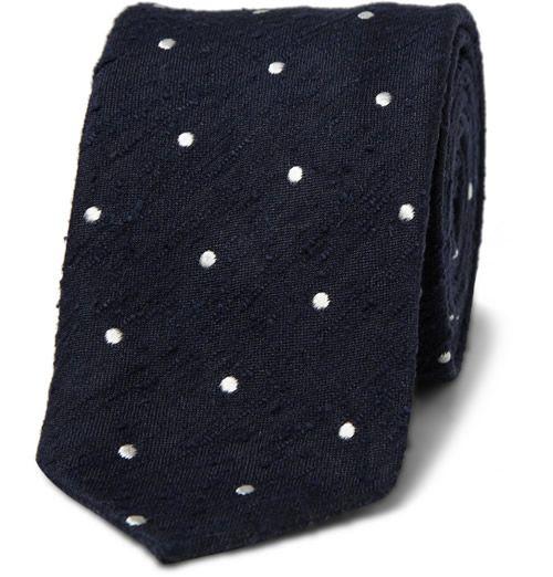 drake's shantung silk polka dot tie: Men Clothing, Silk Shantung, Drake Silk, Casual, Toilets Paper, Polka Dots Ties, Men'S Clothing, Drake Shantung, Silk Polka