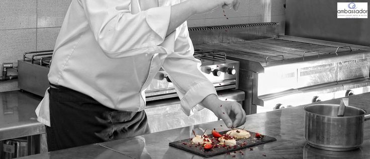Special touches of flavors and aromas in every dish! More at ambassadorhotelsantorini.com