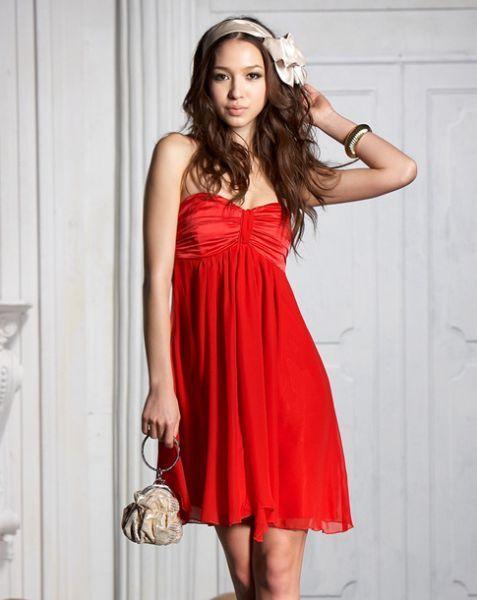 Red dress xoxo juniors