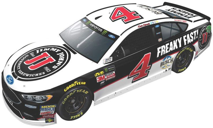 Kevin Harvick 2018 #4 Jimmy Johns Ford 1:64 ARC - PRE-ORDER