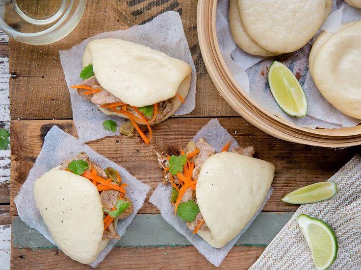 Pork Bao Buns Recipe - Viva