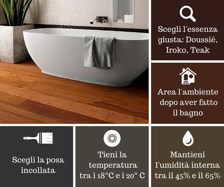 Some very useful #tips for a beautiful #bathroom with a #wood flooring