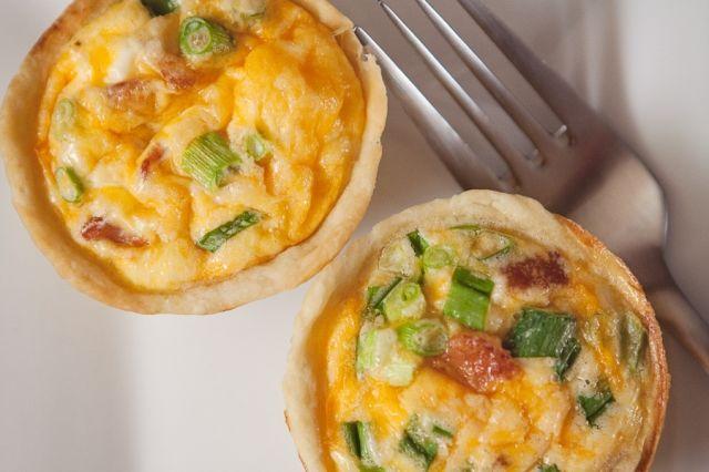 Mini Frittatas | Food & Drink | Pinterest | Mini Frittata and Minis