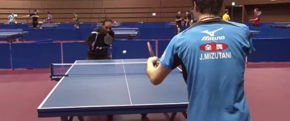 WATCH: Table Tennis Player Has No Arms, Is Still Better Than You