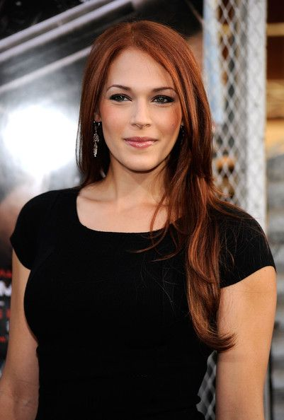 """Agent Van Pelt"" from the Mentalist (Amanda Righetti) She is SO beautiful! She has the best color hair ever!"
