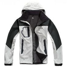 Free Shipping 2014 Brand New 8 color Waterproof Windstopper Softshell outdoor Jacket(China (Mainland))