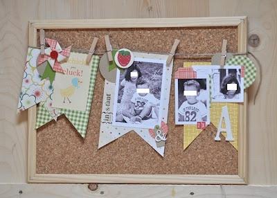 cork board; manu per hobby di carta