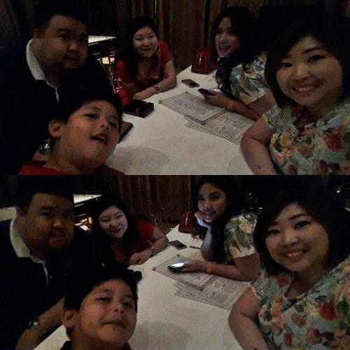 Hangout after fams xmas dinner