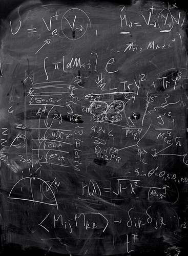 7 | Photos of Physicists' Blackboards Reveal The Ghosts Of Theorems Past