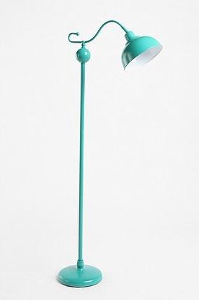 Turq floor lamp