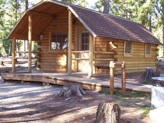 Priest Lake State Park dog-friendly cabin $60/night