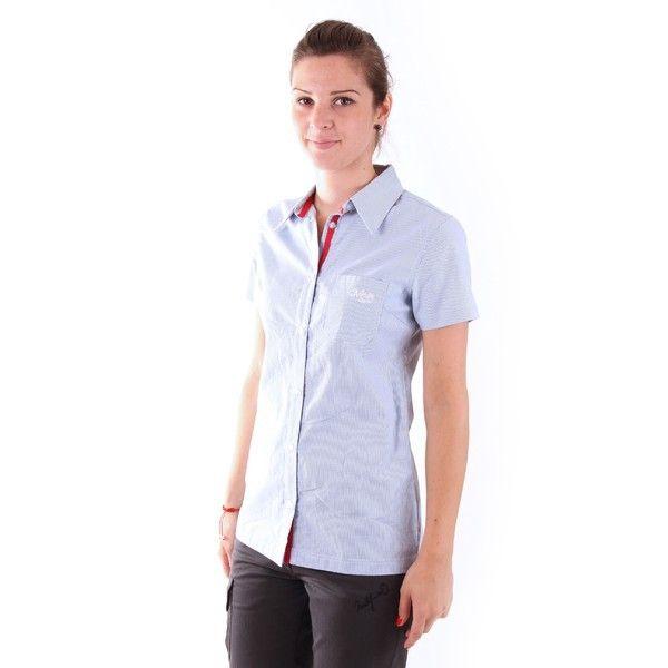 Camasă pentru femei Northfinder Venge - albastru cu mâneci lungi. Potrivită pentru activități în aer liber, dar și pentru purtare zilnica în oras. Material: 100% bumbac. Acum redus cu 20%!