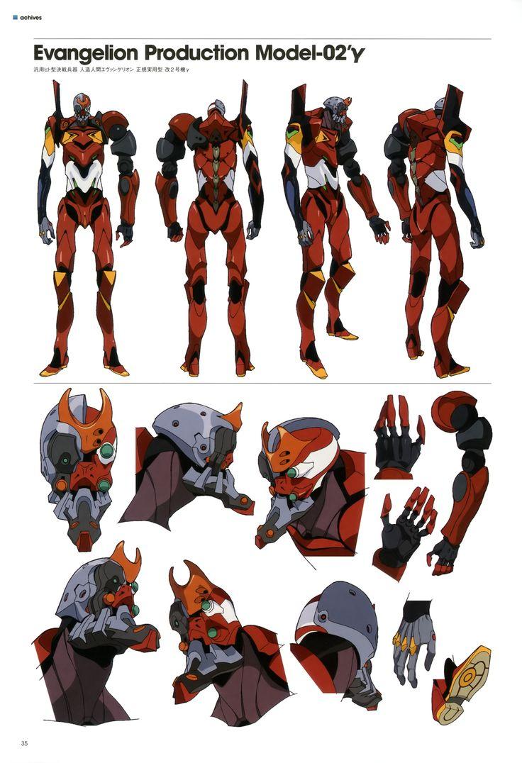 evangelion By Hideaki Anno writer and director of Neon Genesis Evangelion.
