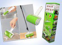 Univerzális Magic Sticky mágikus henger szett a hatékony takarításért, szöszök, hajak és állatszőrök ellen is