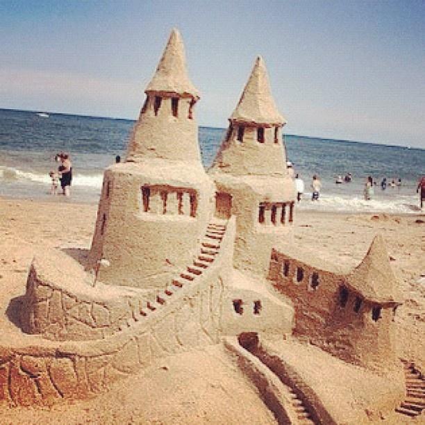 The Delaware Seas State Park Sandcastle Contest