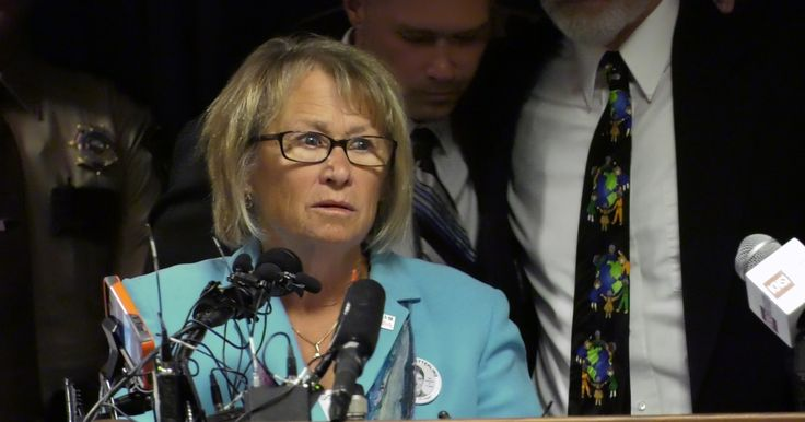 Immensely moving.    Shortly after learning about her son Jacob's last moments, Patty Wetterling spoke to the media