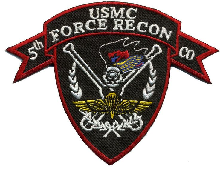 Patch - USMC 5th Force Recon Co Marines
