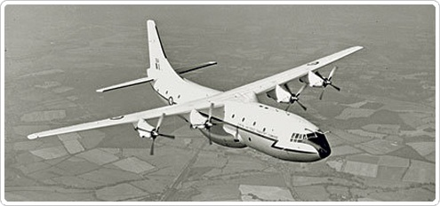 Short SC5 Belfast.Belfast aircraft were the first British aircraft designed to meet the RAF's need for long-range transport, and were the world's first military cargo aircraft with a fully automatic landing system.