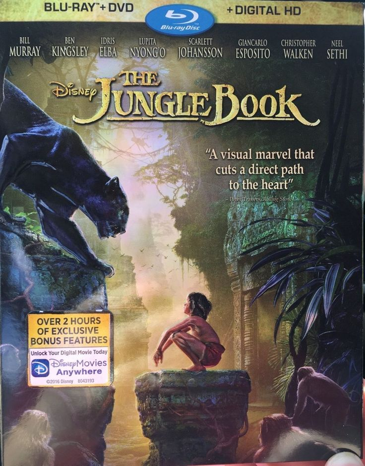 Disney's+The+Jungle+Book+(Blu-ray/DVD,+Digital+HD+2016)