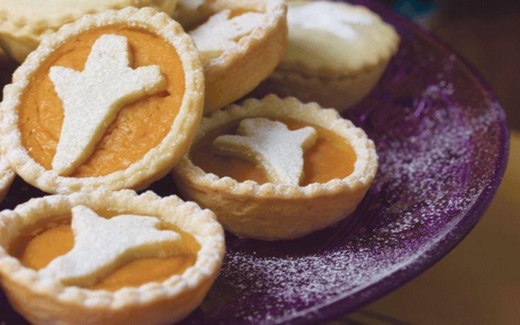 Chef John Torode shares a spooky Halloween recipe for pumpkin tarts
