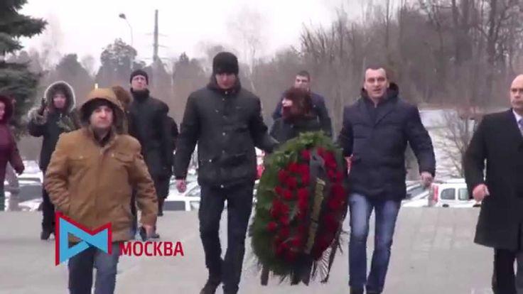 Похороны Б.Немцова на Троекуровском кладбище