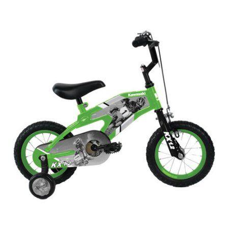 Boys' 12 Inch Kawasaki Bike