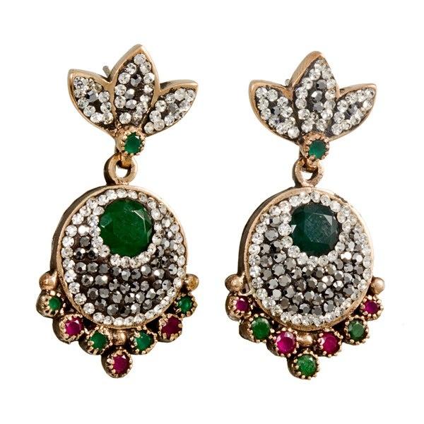 Theia Silver Swarovski Earring & Turkish Wholesale Silver Jewelry #wholesale #silver #jewelry #swarovski #earring #turkish https://www.facebook.com/TheiaSilverJewelry
