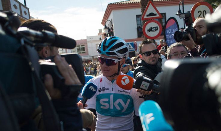 CelebrityNews Team Sky's Chris Froome faces fresh criticism from fellow cyclist Tom Dumoulin #HotCelebrityNews360
