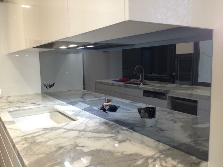 Ultimate Glass Splashbacks Tullamarine - our new Cobalt toughened mirror product - an absolutely beautiful finish!