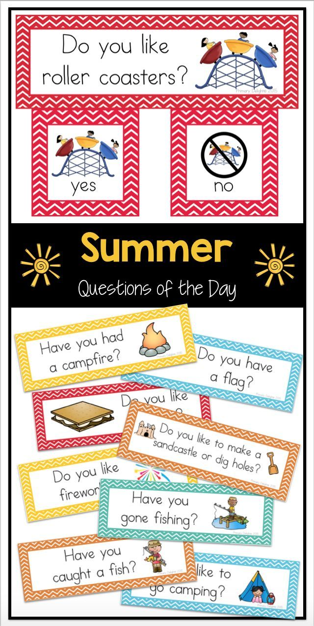 Easy-to-read questions of the day for spring. Great for preschool or kindergarten. Use for attendance, morning meeting, graphing and more.