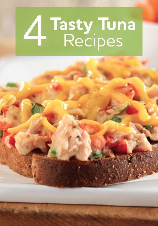 ... Tuna recipes on Pinterest | Crumpets, Celery and Tuna pasta salads