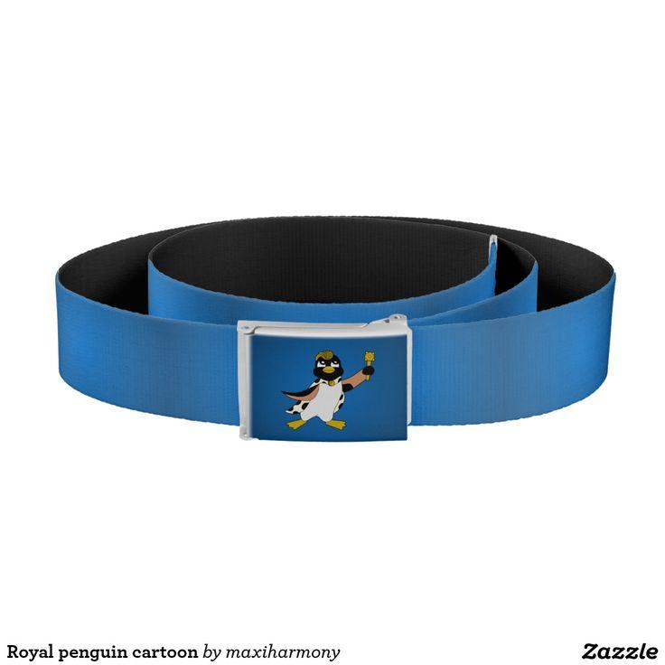 Royal penguin cartoon belt