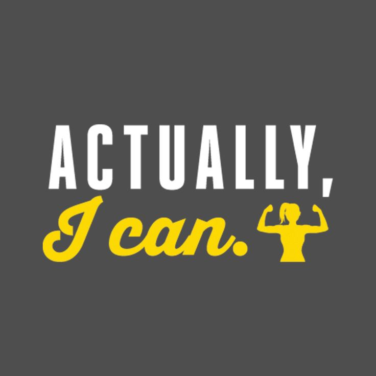Women's Flowy Racerback Tank: Actually, I can Regular price $25.00 CAD, by Asskicker Ink [front graphic]