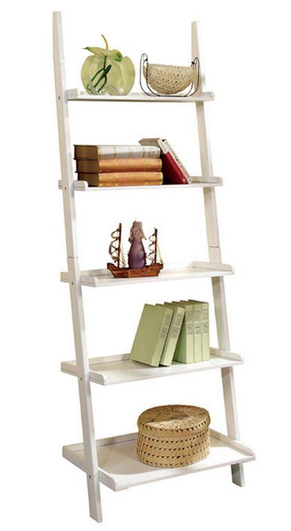 #Ladder #Bookcase #White