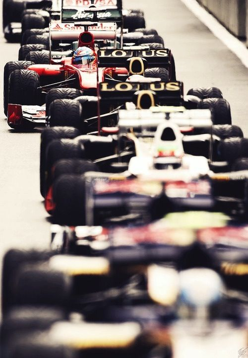 Formula1 - always wanted to see a race