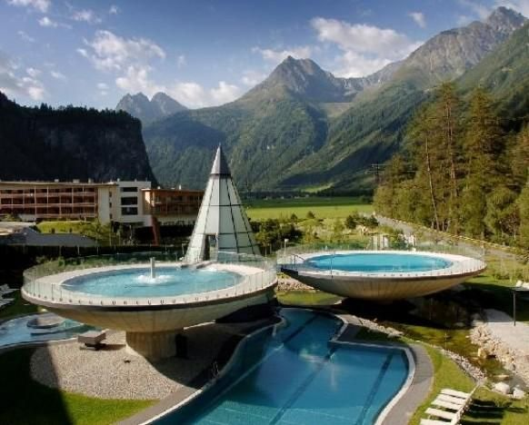Aqua Dome spa, Austria