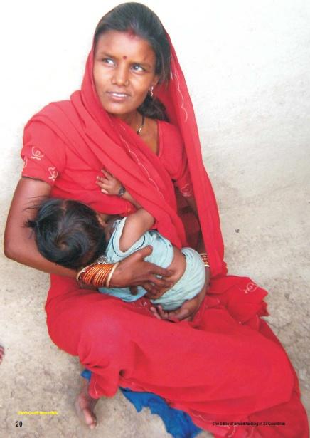 Beautiful Breastfeeding Mother India  Mother Feeding -9377