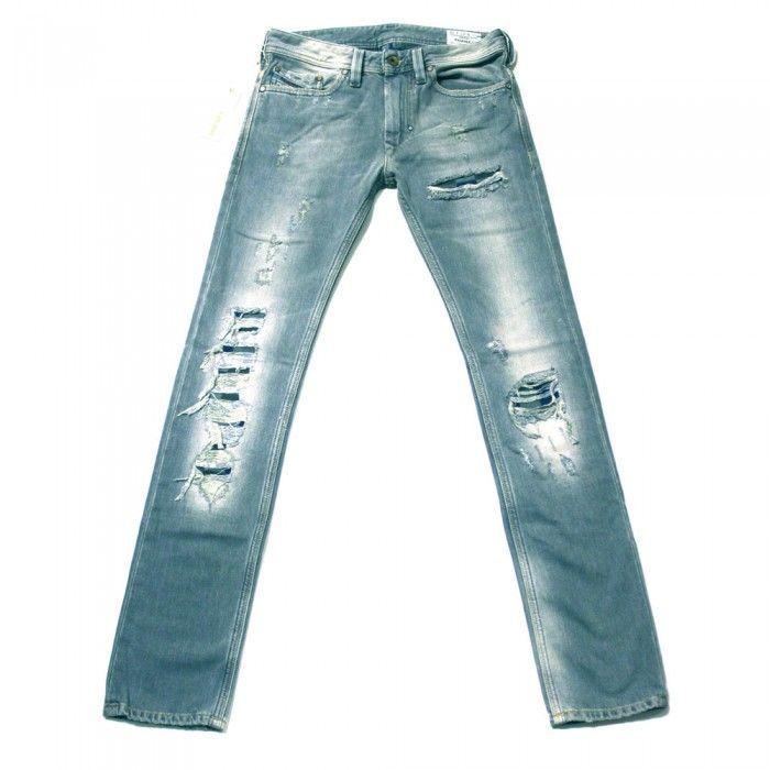 Diesel Thanaz 8S2 Mens Jeans | 008S2 | Slim | Straight | Diesel Jean Sale | UK | Designer Man