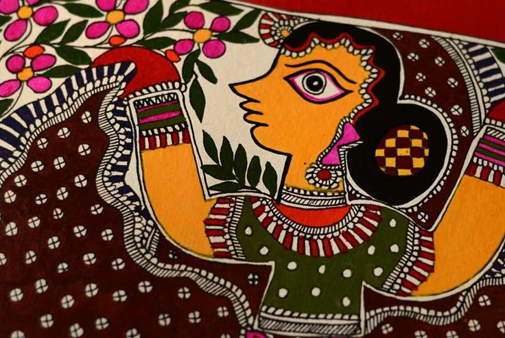 pics for easy madhubani paintings krishna. Black Bedroom Furniture Sets. Home Design Ideas