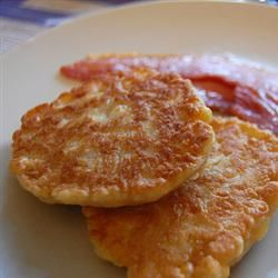 Corn Fritters with Maple Syrup Recipe on Yummly