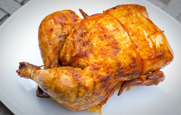 how to put chicken on ronco rotisserie