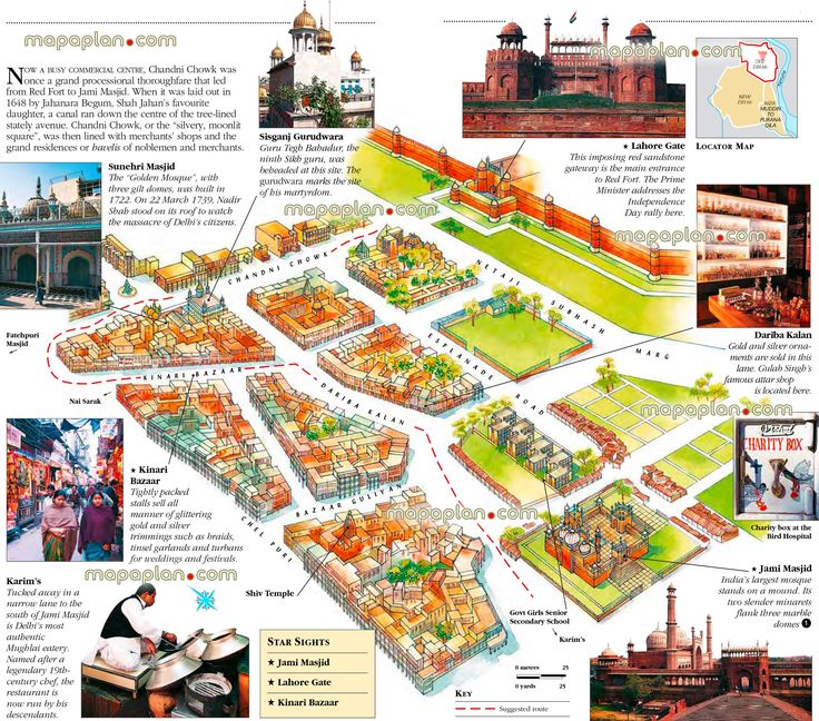 1000 images about Delhi India printable map of top tourist – Virtual Travel Map