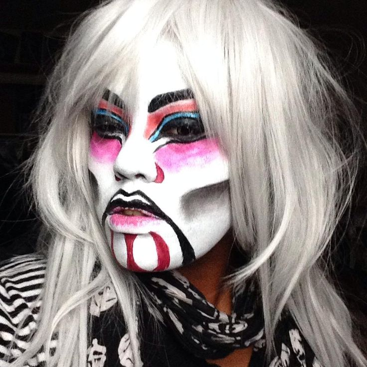 My Daughter's Makeup she did herself for Halloween 2014.